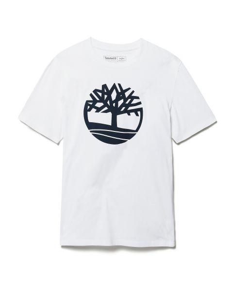 Timberland K-R Brand Tree Regular Logo T-Shirt White | Jean Scene