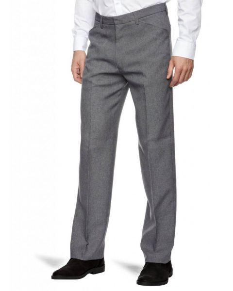 Farah Hopsack Trousers Mid Grey Image