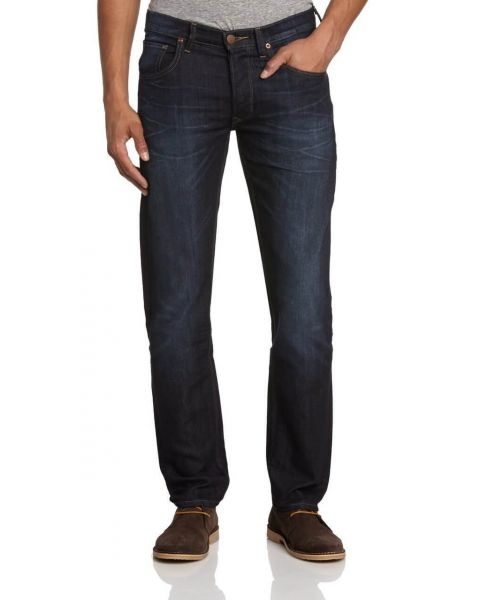 Lee Daren Regular Slim Strong Hand Faded Denim Jeans Image