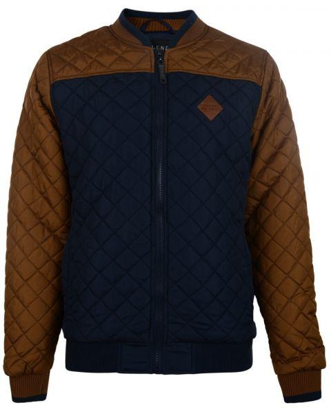 Blend Quilted Jacket Navy Blue Image