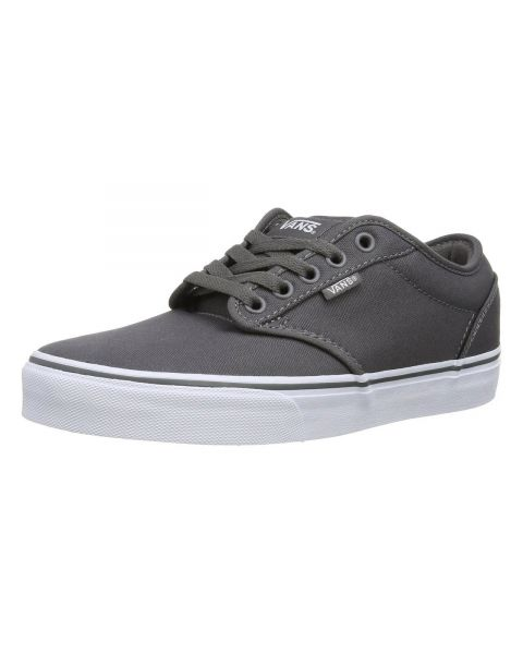 Vans Atwood Canvas Trainers Pewter Grey Image
