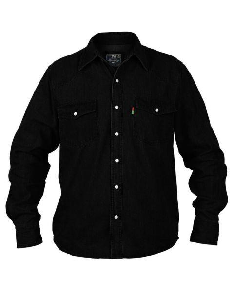 Duke Big Kingsize Black Denim Shirt Image