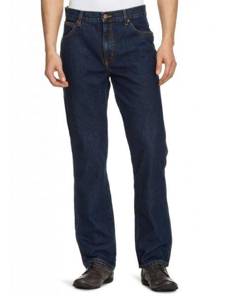 Wrangler Texas Denim Jeans Darkstone Blue Image
