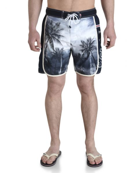 Smith & Jones Beach Swim Shorts & Flip Flop Set Kokomo Black Image