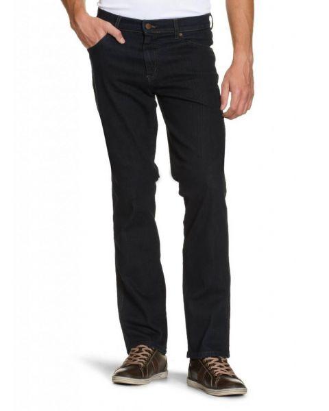 Wrangler Texas Stretch Denim Jeans Blue Black Image