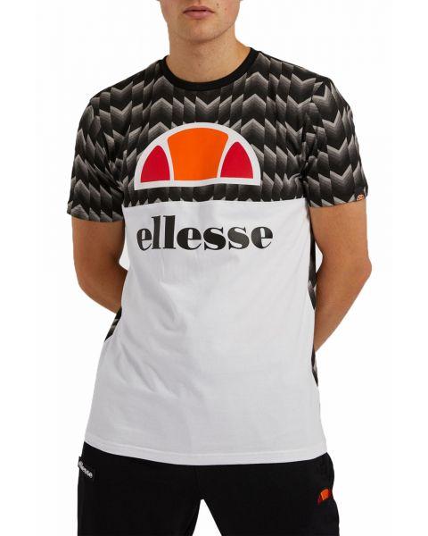 Ellesse Mens Logo T-Shirt Short Sleeve Black | Jean Scene