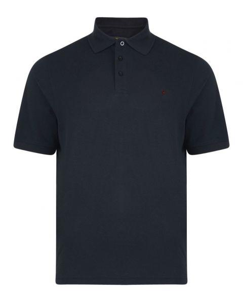 Farah Polo Shirt  Buy Farah Men's Polo Shirt Black Ink   Jean Scene