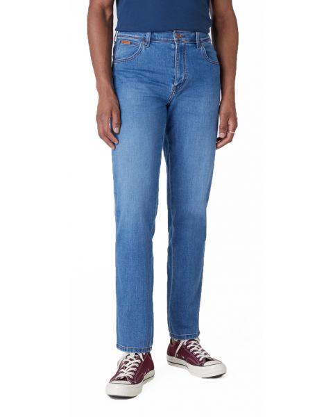 Wrangler Texas Stretch Denim Jeans Blazing Blue   Jean Scene