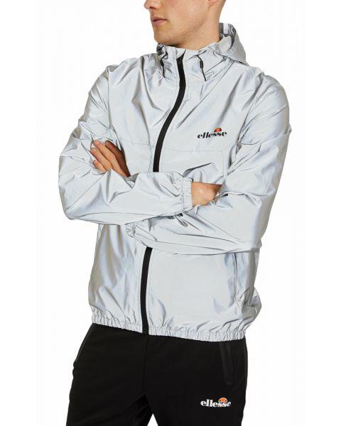 Ellesse Mens Mens Cesanet Hooded Windbreaker Jacket Reflective | Jean Scene