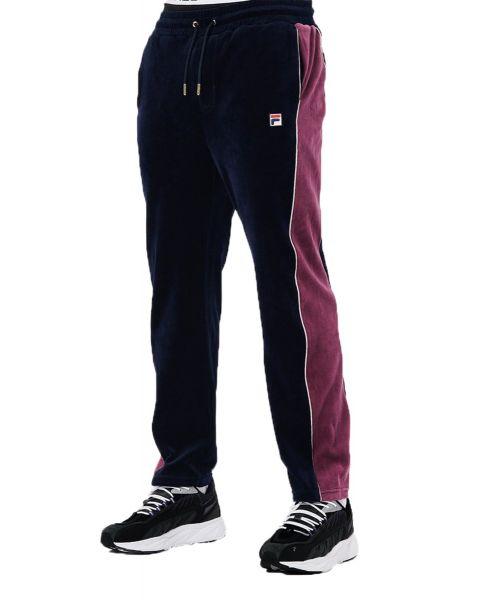 Fila Men's Cima Pant Classic Velour Track Pants Peacoat | Jean Scene