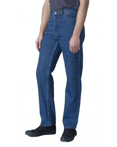 Rockford Long Leg Denim Jeans Blue Stonewash Blue | Men's Rockford Jeans | Jean Scene