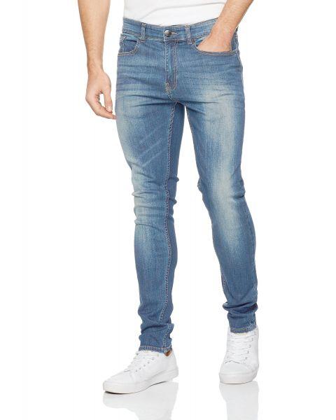 Firetrap Deadly Skinny Stretch Fit Denim Jeans Light Wash | Jean Scene