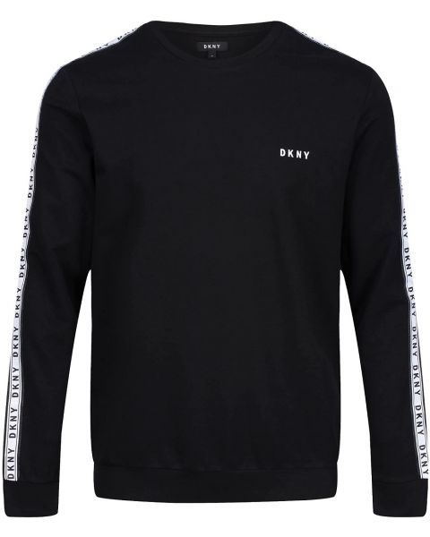 DKNY Long Sleeve Lounge Top Black