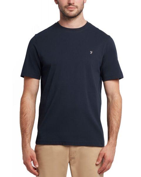 Farah Eddie Short Sleeve T-Shirt True Navy