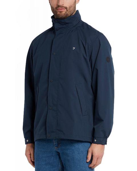 Farah Falkirk Anorak Jacket Navy   Jean Scene
