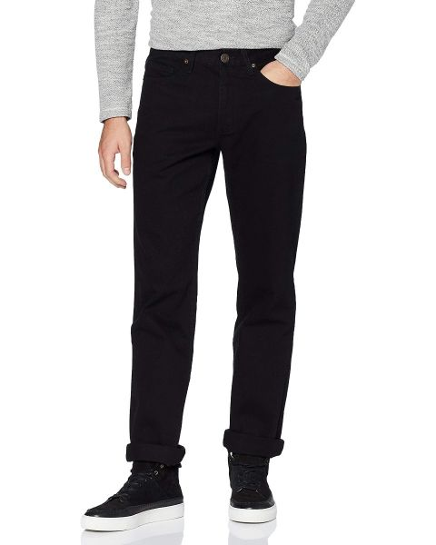 Farah Darwood Rigid Denim Jeans Black