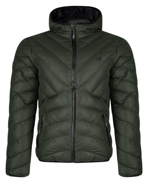 Kangol Winter Padded Jacket Khaki | Jean Scene