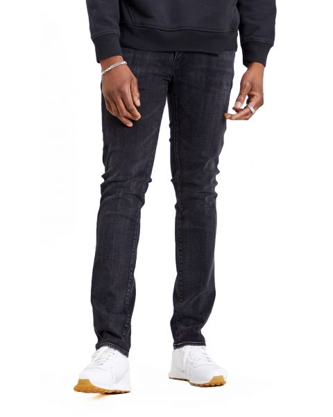 Levis 511 Denim Jeans Dark Blue Caboose Adv | Jean Scene