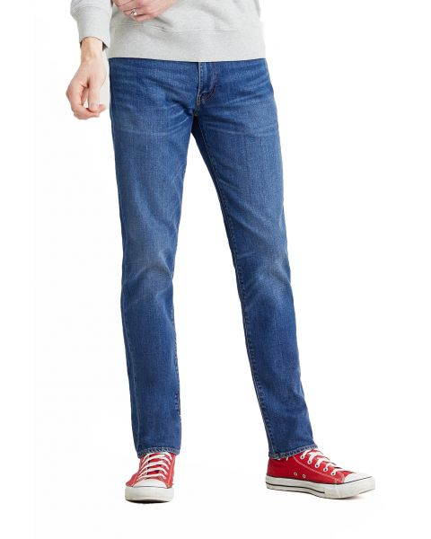 Levis 511 Denim Jeans Dark Blue Poncho And Righty Adv | Jean Scene