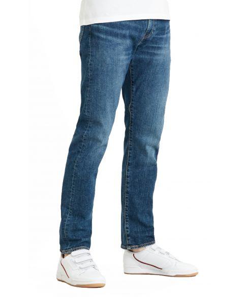 Levis 502 Denim Jeans Dark Blue Wagyu Moss | Jean Scene