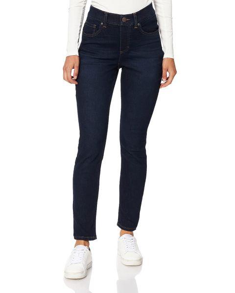 Lee Ladies Extreme Motion Skinny Comfort Stretch Denim Jeans Darkest Night   Jean Scene