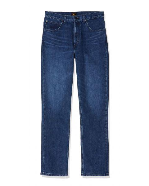 Lee Brooklyn Stretch Denim Jeans Deep Pool | Jean Scene