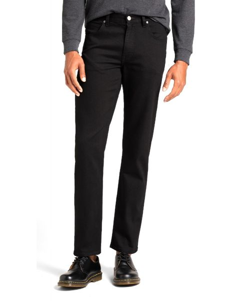 Lee Brooklyn Stretch Denim Jeans Clean Black | Jean Scene