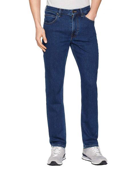 Lee Brooklyn Stretch Denim Jeans Dark Stone   Jean Scene