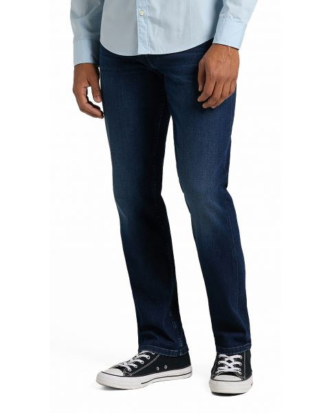 Lee Brooklyn Stretch Denim Jeans Clean Dark Ray | Jean Scene