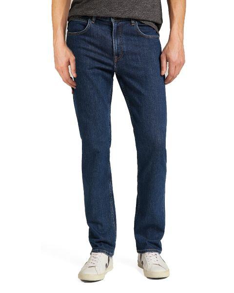 Lee Brooklyn Stretch Denim Jeans Dark Stonewash | Jean Scene