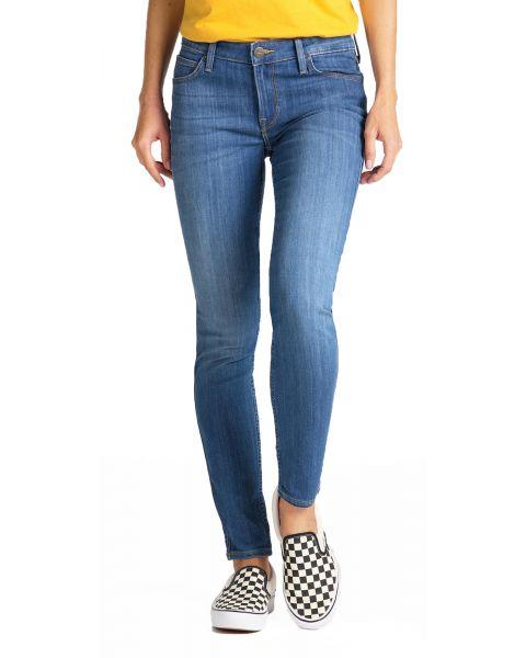 LEE Scarlett Women's Skinny Stretch Jeans High Blue | Jean Scene