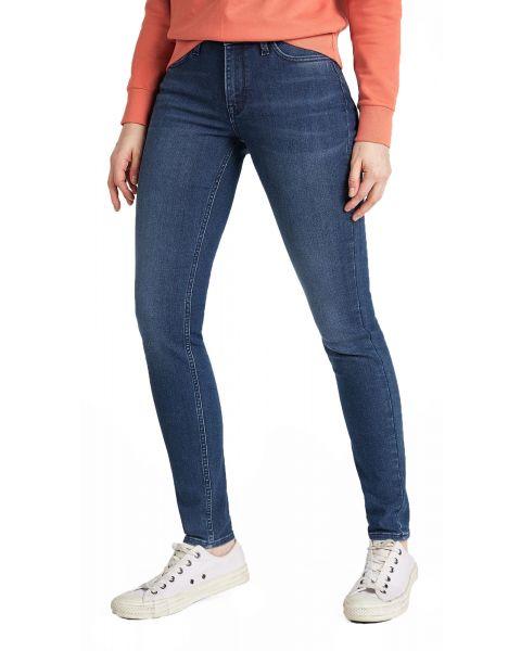 LEE Scarlett Women's Skinny Stretch Jeans Dark Ely | Jean Scene
