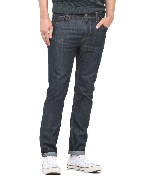 Lee Rider Regular Slim Rinse Blue Denim Jeans | Jean Scene