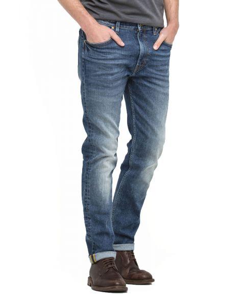 Lee Rider Regular Slim Blue Surrender Blue Denim Jeans | Jean Scene