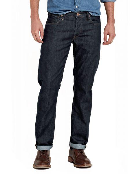 Lee Daren Regular Slim Rinse Blue Denim Jeans   Jean Scene