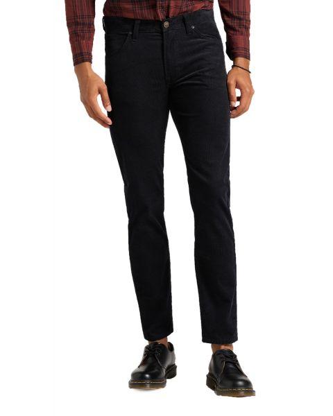 Lee Daren Zip Regular Slim Corduroy Jeans Dark Black
