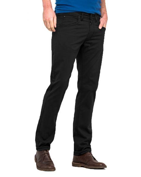 Lee Daren Zip Regular Slim Anthracite Chino Jeans | Jean Scene