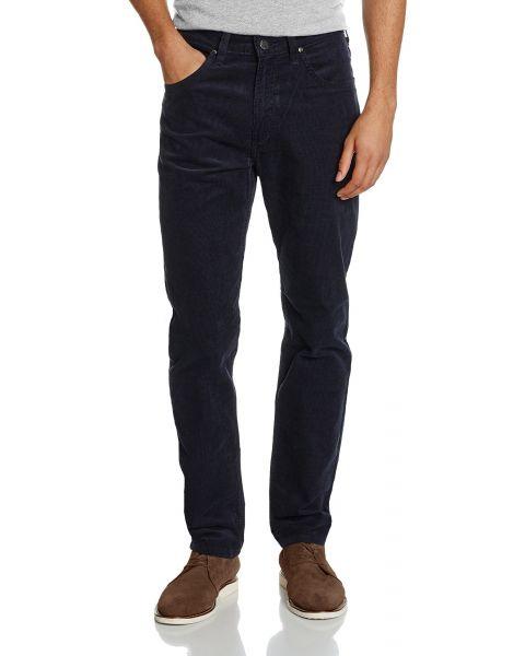 Lee Daren Zip Regular Slim Blue Well Corduroy Jeans | Jean Scene