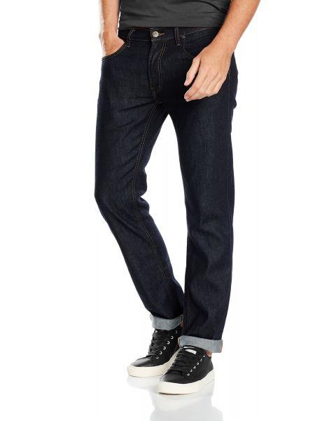 Lee Daren Zip Regular Slim Clean Splash Blue Denim Jeans | Jean Scene
