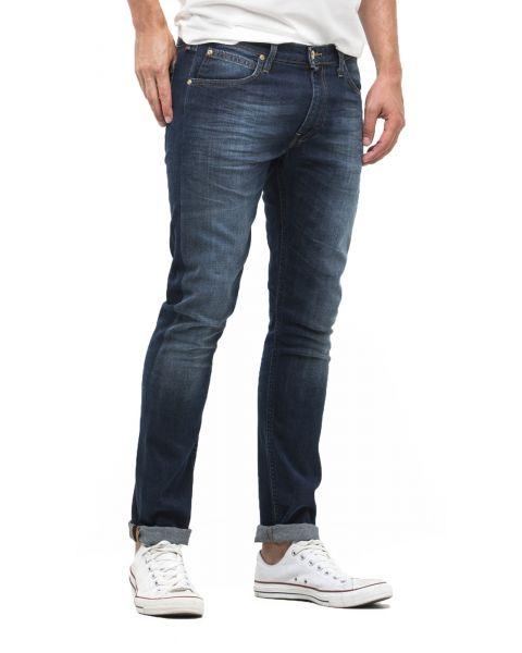 Lee Luke Slim Tapered Faded True Authentic Denim Jeans | Jean Scene
