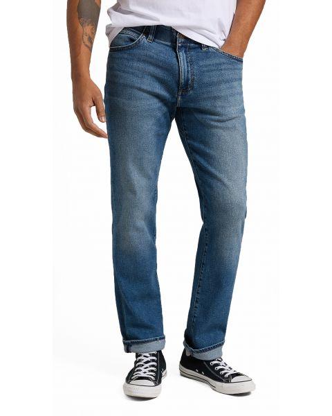 Lee Extreme Motion Zip Straight Fit General Denim Jeans | Jean Scene