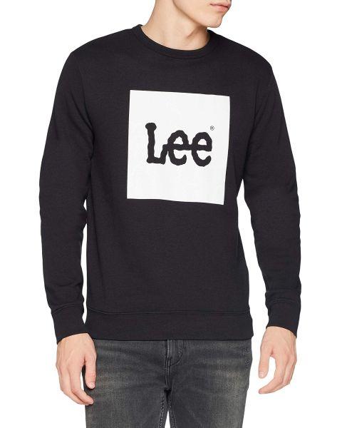 Lee Logo Sweatshirt Black | Jean Scene