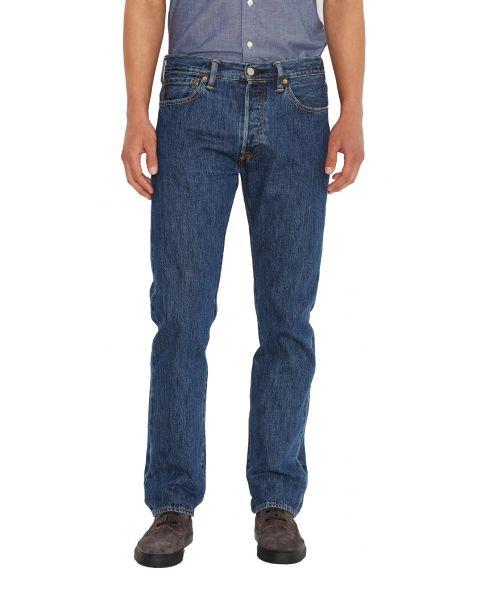 Levis 501 Denim Jeans Stonewash Blue   Jean Scene