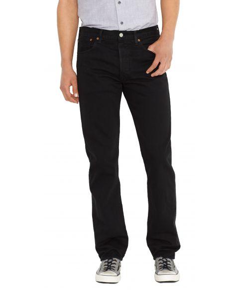 Levis 501 Denim Jeans Black   Jean Scene