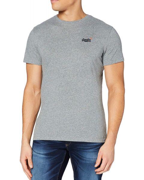 Superdry Orange Label Vintage T-Shirt Noos Grey