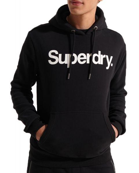 Superdry CL Logo Sweat Overhead Hoodie Black