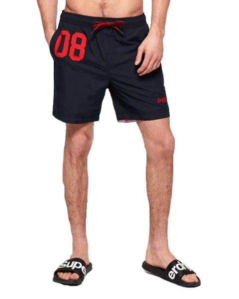 Superdry Water Polo Men's Shorts Darkest Navy   Jean Scene