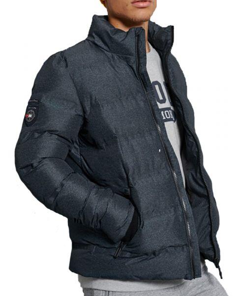 Superdry Jacket Charcoal   Jean Scene