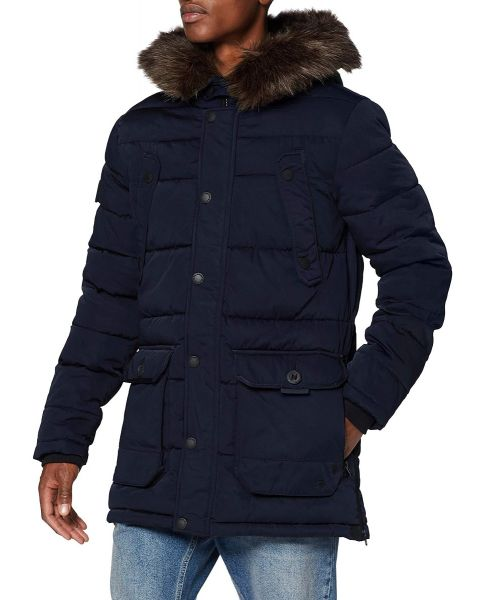 Superdry Winter Chinook Men's Jacket Navy   Jean Scene