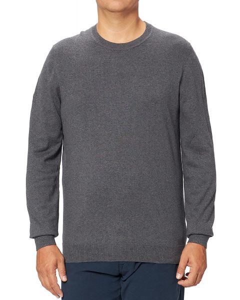 Superdry Vintage Embroided Crew Neck Jumper Gull Grey Marl